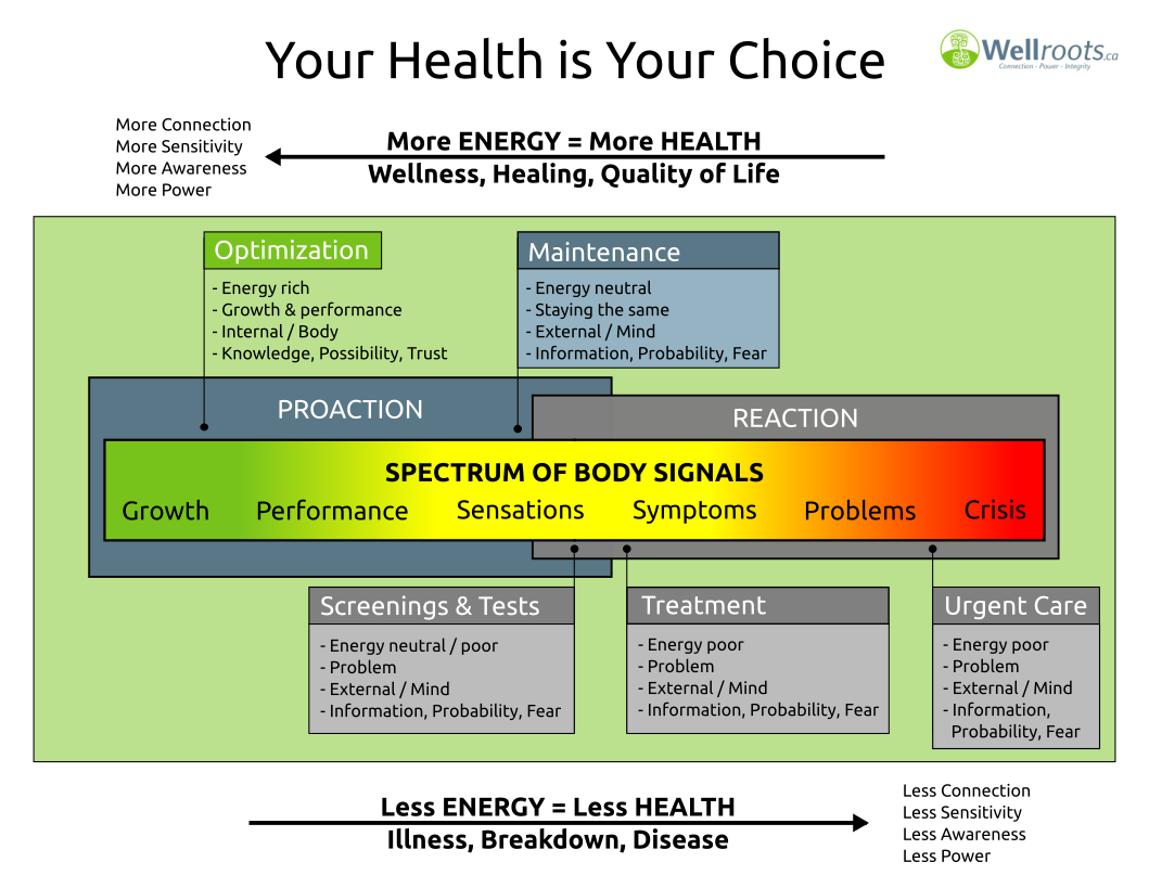 Your health is your choice Infographic